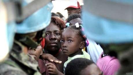Também houve acusações em países como o Haiti, devastado por conflito e terremoto
