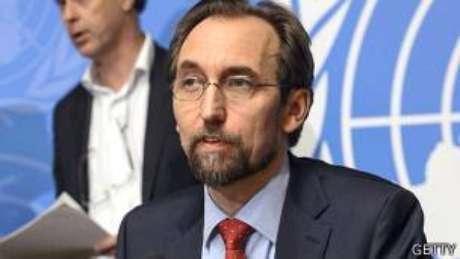 Alto comissário para direitos humanos, Zeid Ra'ad Al Hussein reconheceu em 2015 que a ONU demorou para passar informações a promotores na França