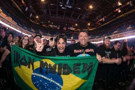 A banda que estreou no Brasil em 1985 realizará, em 2016, seu enésimo show no País