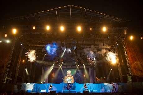 O Iron Maiden realizará shows em cinco cidades brasileiras entre os dias 17 e 26 de março
