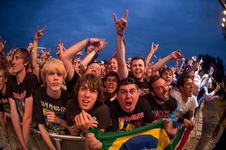 Ansiosos, fãs prometem fazer do show do Brasil um marco na carreira da banda inglesa