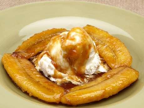 O sorvete de banana é uma das opções diet que você pode fazer