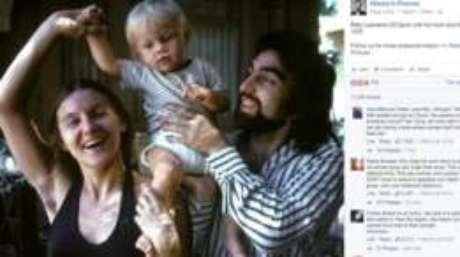 Axila peluda de Irmelin DiCaprio dividiu opiniões de usuários nas redes sociais; foto foi tirada em 1976