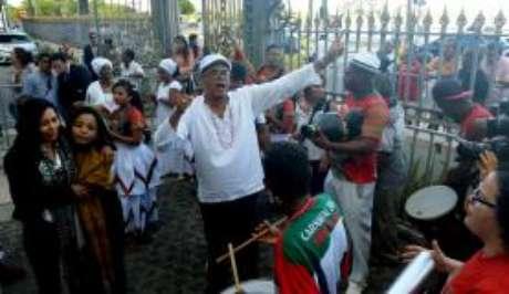 O tambor tocou e a saia rodou Velório do compositor Naná Vasconcelos