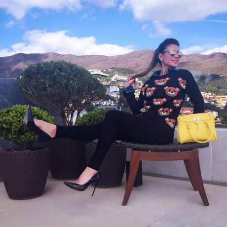 Cantora desde 1993, a musa só conheceu o sucesso real em 2005 após gravar a música Ave Maria Natureza para a telenovela América, da Rede Globo