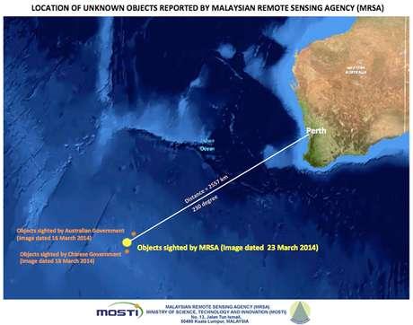 Buscas pelo MH370 em março de 2014