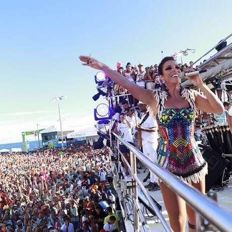 Apesar de ter sido criado por Luiz Caldas, o axé music tem a cantora Ivete Sangalo como principal referência