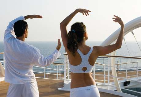 Atividades fitness seguem após cruzeiro