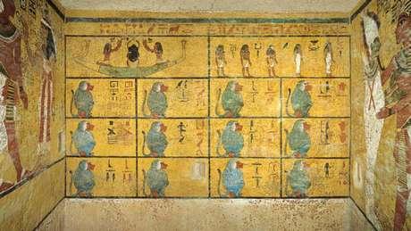 LA MOMIA!! Descubrieron dos cámaras secretas en la tumba de Tutankamón