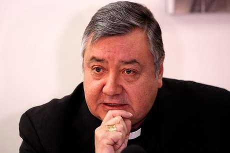 El secretario general de la Conferencia Episcopal de Chile, Mons. Cristián Contreras Villarroel.