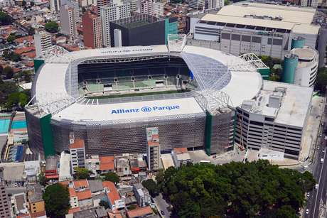O novo estádio do Palmeiras foi inaugurado em novembro de 2014
