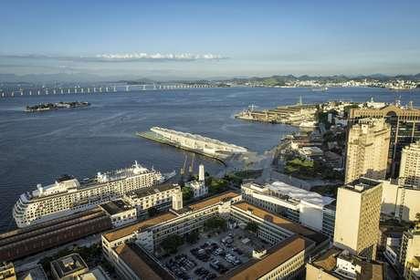 Navios chegam em dezembro ao Brasil para temporada 2016/2017, nos portos do Rio (foto) e Santos