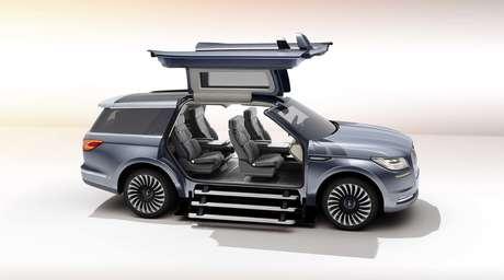 El prototipo Lincoln Navigator.
