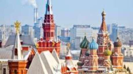 """""""Versões"""" americanas de Moscou não têm as construções típicas da capital russa, como o Kremlin"""