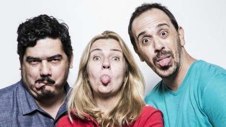 Lanna (esquerda), Mendonça e Fernandes: três das quatro cabeças do Sensacionalista