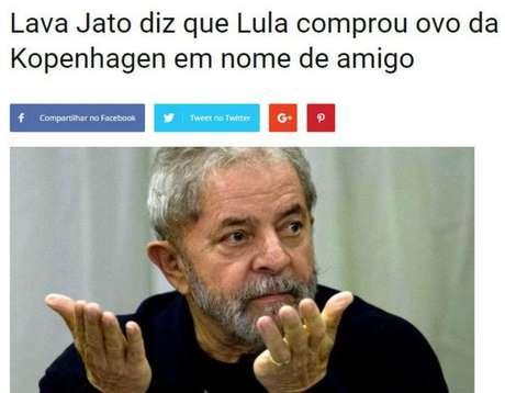 Vídeo com o presidente lula teve 246 mil curtidas no Facebook