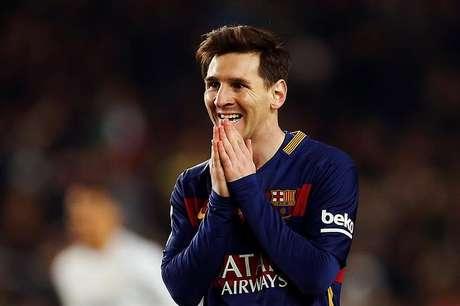 Hoje não deu para o Messi...