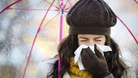 Quanto mais rápido os vírus expelidos chegaram às mucosas (boca, nariz e olhos) de uma pessoa, mais provável será a contaminação.