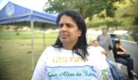Presidente da associação Anjos de Realengo, Adriana Silveira Machado