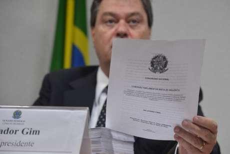 Gim Argello foi vice-presidente da CPI mista da Petrobras