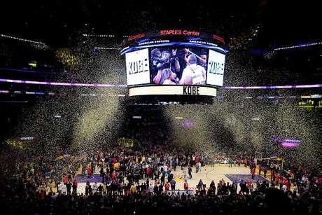 O ala-armador Kobe Bryant disputou nessa quarta-feira (13) sua última partida como profissional na NBA