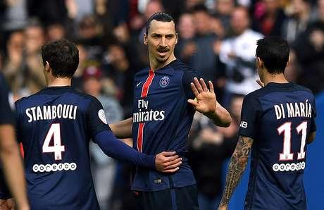 Além do argentino, Ibrahimovic (2), Matuidi, Cavani e Maxwell marcaram no 6 a 0