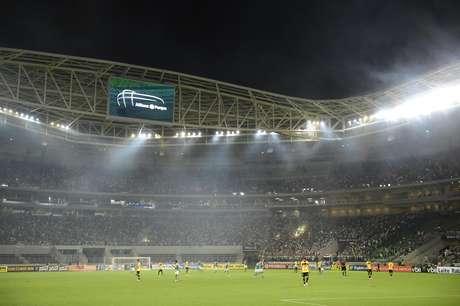 Allianz Parque recebeu bom público mesmo em noite de segunda-feira