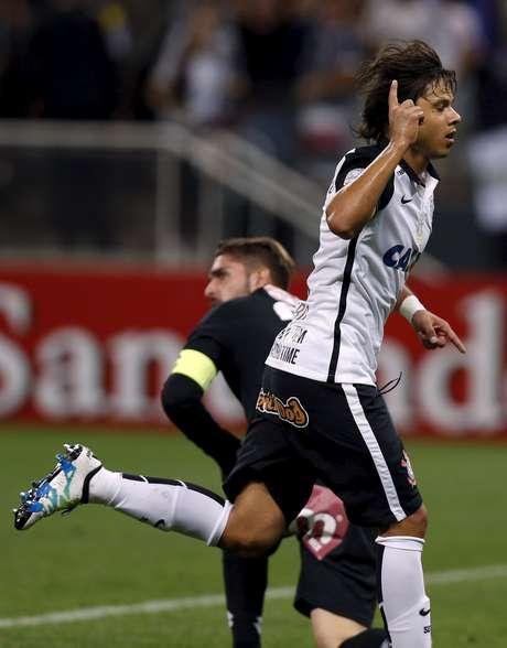 Romero caiu de vez nas graças do torcedor do Corinthians nesta temporada