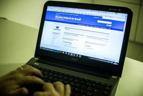 Programa gerador da declaração do IR, que pode ser baixado no site da Receita Federal