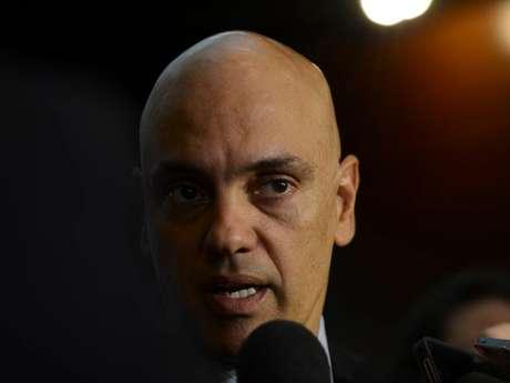 O secretário da Segurança Pública de São Paulo, Alexandre de Moraes