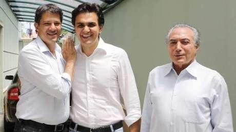 Haddad, Chalita e Temer: ascensão de árabes na política se deve ao sucesso de parentes imigrantes