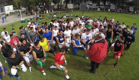 Aspectos de la práctica de la pre-selección mexicana Under 19