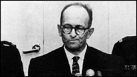 Eichmann foi preso em Buenos Aires nos anos 60