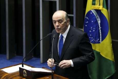 Brasília - O senador José Serra assume o Ministério das Relações Exteriores
