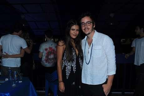 Antonia também prestigiou o pai, Orlando Morais, ao lado de Wagner Santisteban