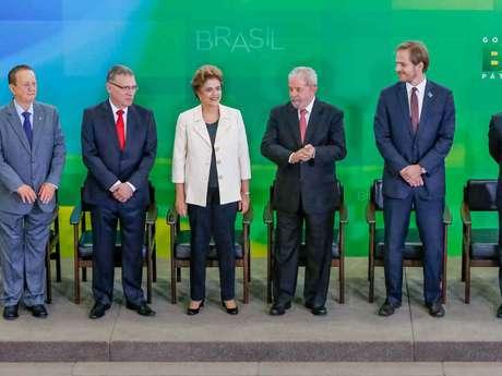 As exceções foram o presidente do Banco Central , Alexandre Tombini, além dos comandantes das pastas da Saúde, Desenvolvimento e Ciência e Tecnologia