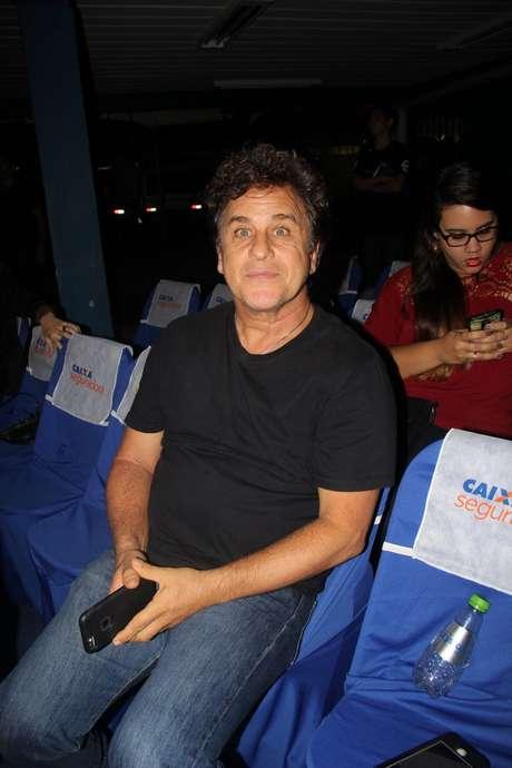 Marcos Frota também esteve no show de Orlando Morais, que aconteceu na última terça-feira (11), no RJ
