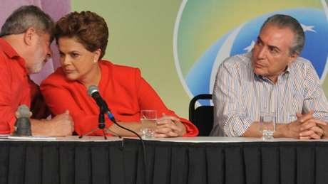 Escolha de Temer como vice de Dilma enfrentava resistências no PT