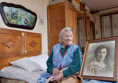 Emma Morano, de 116 anos, se tornou a pessoa mais velha do mundo