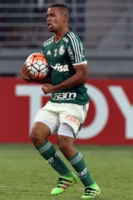 Gabriel Jesus (Palmeiras) é avaliado em R$ 15,8 milhões