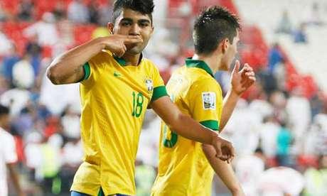 O líder é Gabigol, de 19 anos, jogador mais caro do Brasil. Segundo o site Transfermarkt, ele é avaliado em R$ 47,4 milhões