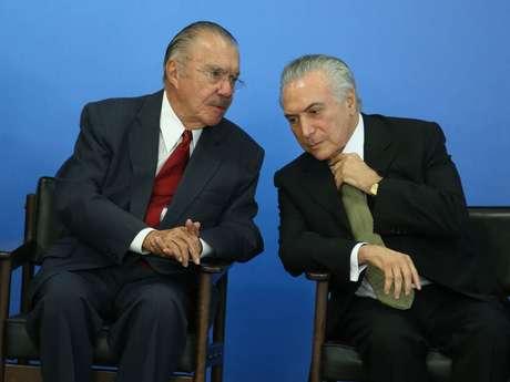"""Ex-presidente José Sarney afirma: """"A ditadura da Justiça tá implantada, é a pior de todas"""""""