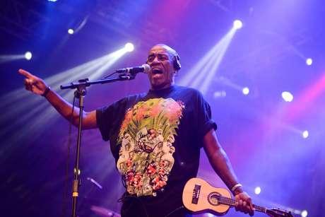 O cantor em apresentação no ano passado, em Recife