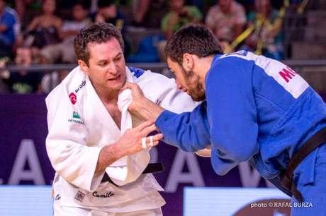 O veterano Tiago Camilo, de 34 anos, vai para sua terceira olimpíada em busca de mais uma medalha (ele já tem uma de bronze e outra de prata)