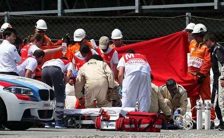 Acidente em treino para o GP da Catalunha da Moto2 matou o piloto Luis Salom