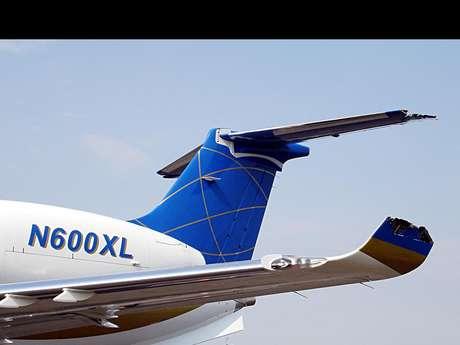 Apesar dos danos na estrutura da aeronave, o jatinho realizou um pouso de emergência e seus sete ocupantes saíram ilesos