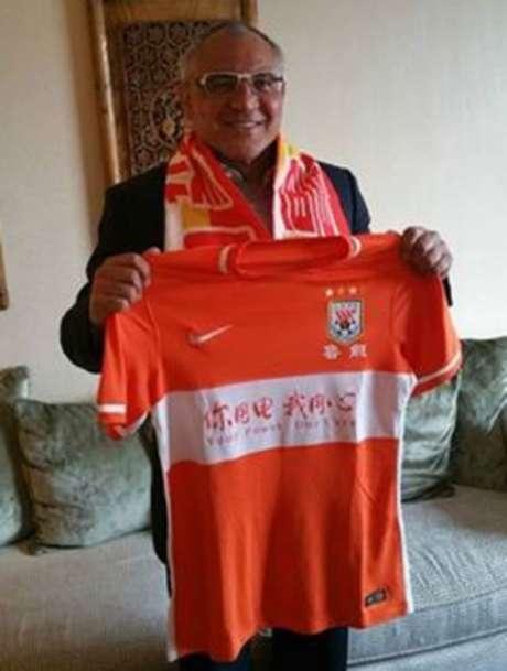 Time chinês fez o anúncio do treinador alemão por meio das redes sociais