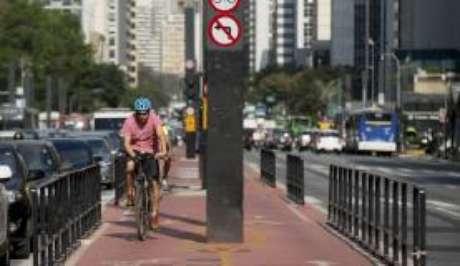 A construção de ciclovias é um dos critérios que renderam a São Paulo a primeira colocação no ranking