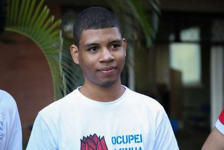 O estudante Luiz Felipe Costa participou de ocupação no Espírito Santo