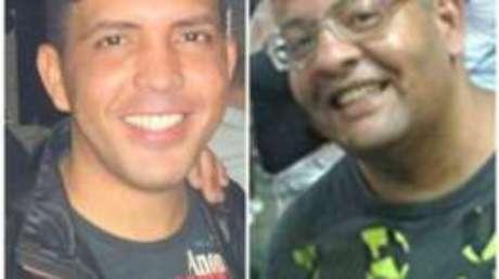 Corpo de Edivaldo Silva de Oliveira (à dir. na foto) foi identificado; Jeovan Bandeira foi visto pela última vez com Oliveira